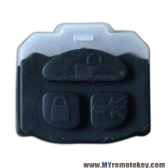 Remote rubber button pad for GM Buick remote key 3 button