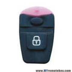 Remote rubber button pad for Kia Hyundai remote fob 1 button