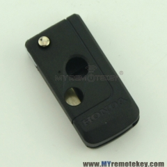 Refit flip remote key case shell for Honda 2 button
