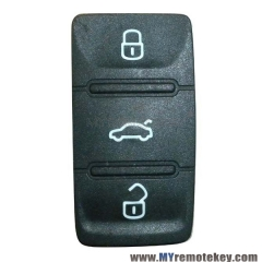 New style remote button rubber pad for VW remote key 3 button