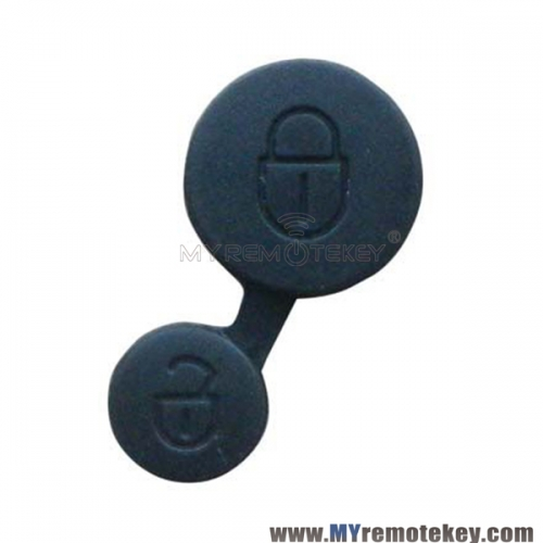 Remote button rubber pad for Peugeot Citroen remote key 2 button