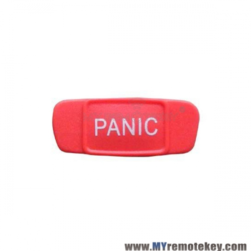 Remote panic button pad for Mercedes flip remote key