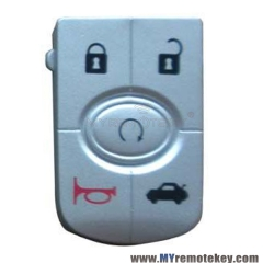 Flip remote key button pad for GM Buick car key 5 button