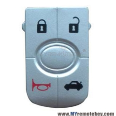Flip remote key button pad for GM Buick car key 4 button