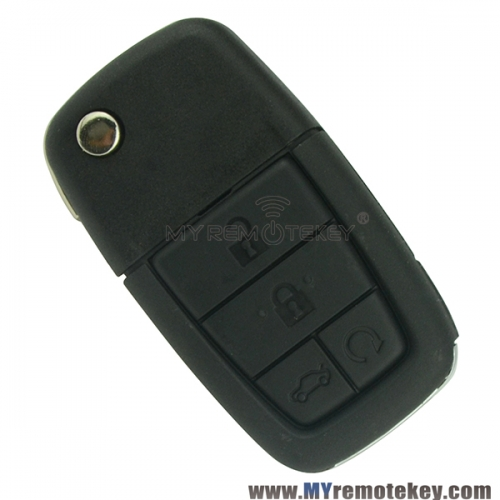 Flip remote key for Pontiac G8 5 button 315mhz GM45 ID46