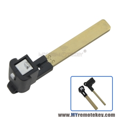 Smart emergency key blade for Subaru