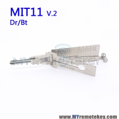 LISHI MIT11 v.2 Dr/Bt 2-in-1 Auto Pick and Decoder For Mitsubishi