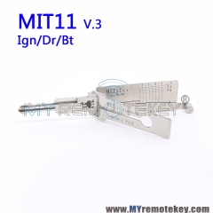 LISHI MIT11 v.3 Ign/Dr/Bt 2 in 1 Auto Pick and Decoder For Mitsubishi