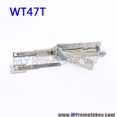 LISHI WT47T 2 in 1 Auto Pick and Decoder For New SAAB