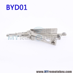 LISHI BYD01 2 in 1 Auto Pick and Decoder