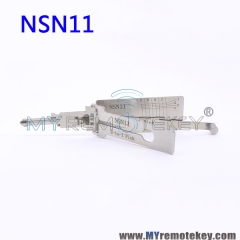 LISHI NSN11 2 in 1 Auto Pick and Decoder For Nissan