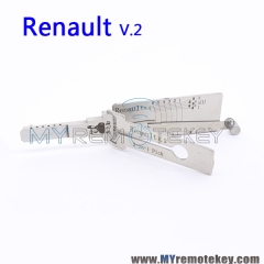 LISHI Renault v.2 2 in 1 Auto Pick and Decoder