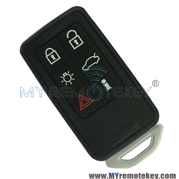 Volvo Key Replacement Cost: Smart Car Key Shell Case Cover KR55WK49266 For Volvo S60