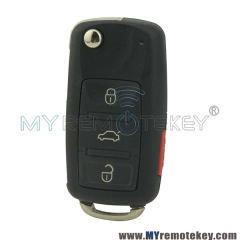 Remote key shell for Audi A8L 3 button with panic