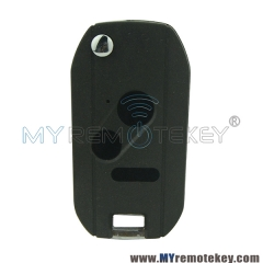 Refit flip remote key case shell for Honda 3 button