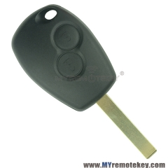 Remote car key PCF7961 FSK 2 button VA6 433 mhz for Renault traffic 2014+