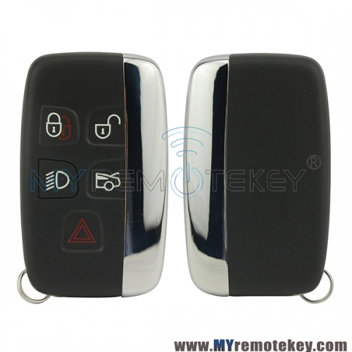 Smart car key 434Mhz 5 button for Jaguar