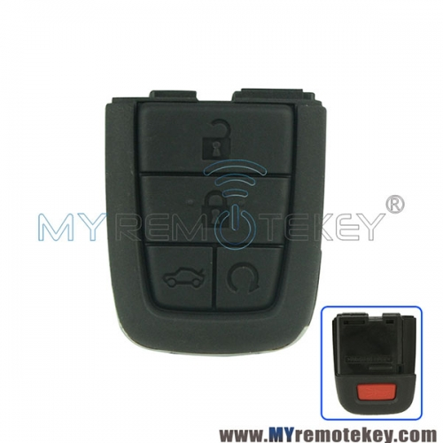 Remote key part for Pontiac G8 4 button with panic 315mhz