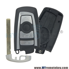 Smart key case for BMW 5 series 4 button