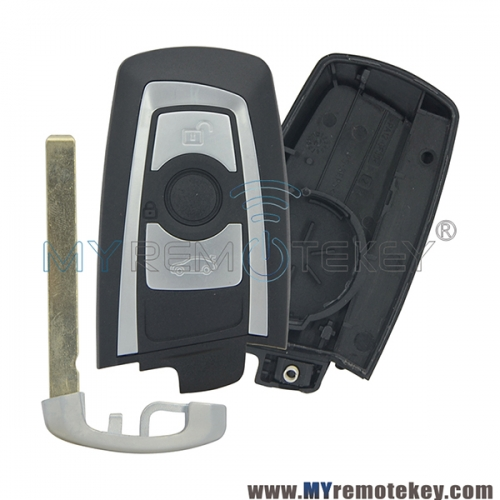 Smart key case for BMW 5 series 3 button
