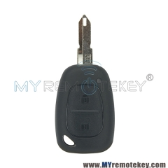 Remote key shell case for Renault Master Traffic 2002 - 2010 2 button NE73