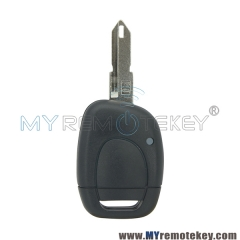 Remote car key shell case 1 button for Renault Clio II 2001 2002 2003 2004 2005 NE73