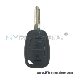 Remote key shell case for Renault Kangoo 2003 - 2007 2 button VAC102