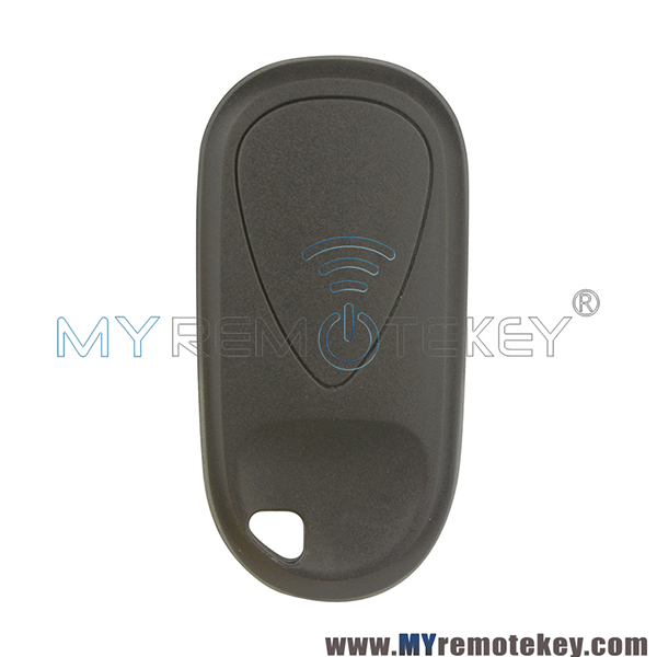 Remote Fob Shell 3 Button With Panic For Acura