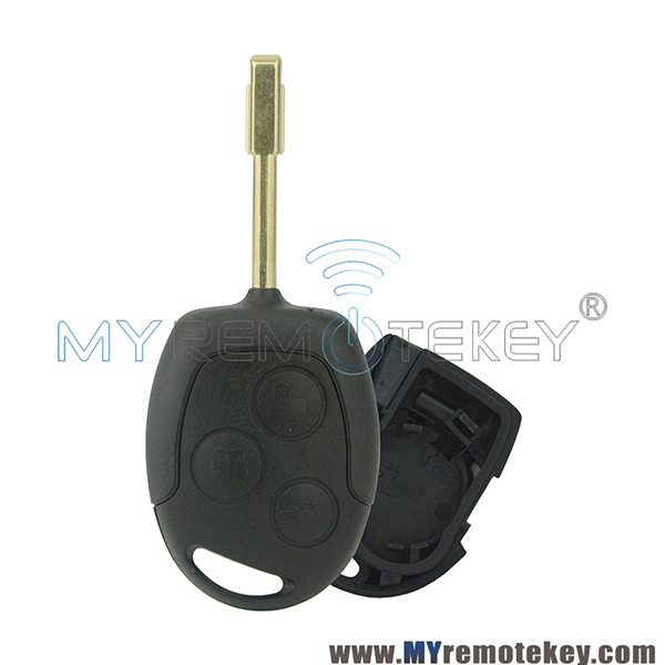Remote Key Shell Case For Ford Focus C Max S Max Connect Fiesta Fusion Galaxy 2006 2007 2008 2009 2010 3 Button 2s6t1 5k601 Ab