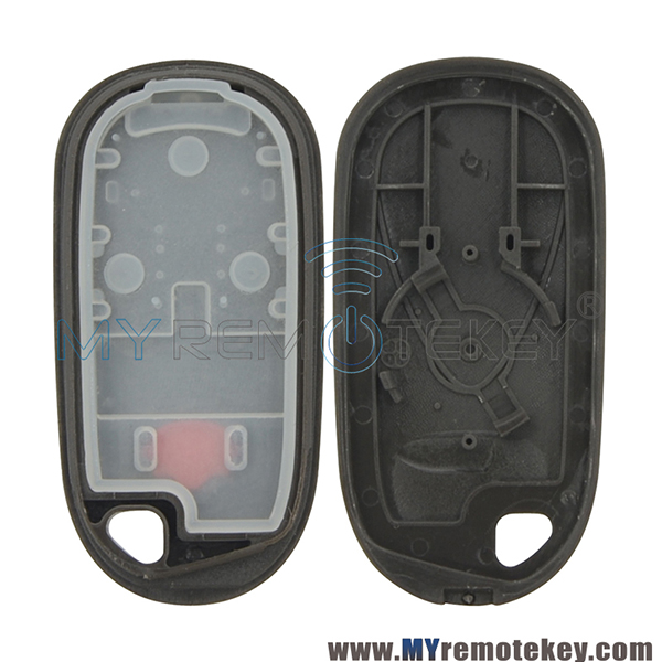 Remote Fob Shell 2 Button With Panic For Acura