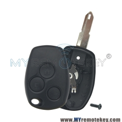 Remote key shell for Renault 3 button NE73