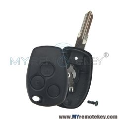 Remote key shell for Renault 3 button VAC102