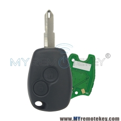 Remote car key 2 button NE73 433 mhz for Renault PCF7946 PCF7947 ASK