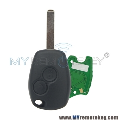 Remote car key 2 button VA6 433 mhz for Renault PCF7946 PCF7947 ASK