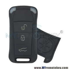 Remote flip key case shell for Porsche Cayenne 3 button