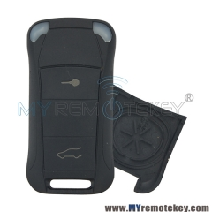 Remote flip key case shell 2 button for Porsche Cayenne