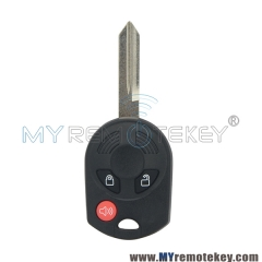 Remote head key shell 3 button for Ford Edge Escape Flex Fusion 2007 2008 2009 2010