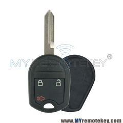 For Ford Edge Explorer remote head key shell 3 button