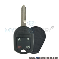 Remote key shell case for Ford Edge 4 button FO38 key blade