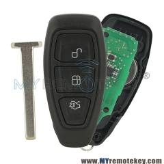 Smart key 3 button 433mhz for Ford KR55WK48801 5WK50170