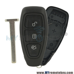 Smart car key shell case 3 button for Ford