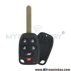 Remote key 6 button N5F-A04TAA for 2011 2012 2013 Honda Odyssey with original sender 313.8 mhz