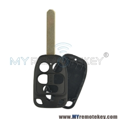 Remote key shell case for Honda 6 button