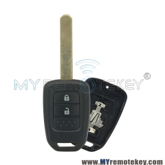Remote car key case shell for Honda 2 button HON66
