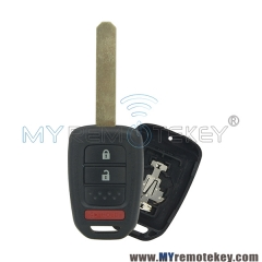 Remote car key case shell for Honda 3 button HON66
