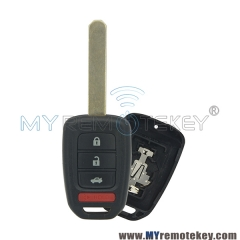 Remote car key case shell for Honda 4 button HON66