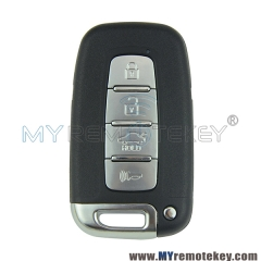Smart key for Hyundai ix35 Kia Sportage 4 button ID46 PCF7952 434mhz