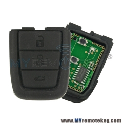 Remote key part 3 button with panic for Holden VE Commodore 434mhz