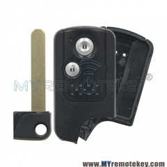 Smart key blank shell for Honda CRV Fit 2 button