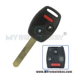 HLIK-1T Remote head key 2 button with panic 313.8Mhz for Honda CRV Fit MLBHLIK-1T